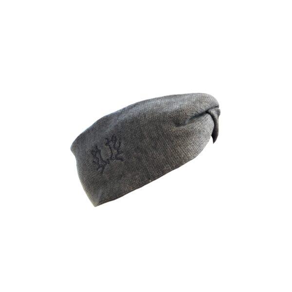 Stirnband grau_klein