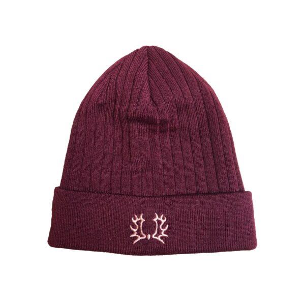 Mütze bordeaux 2