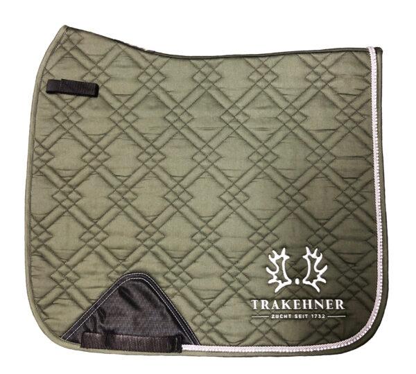 Schabracke Olive/Strass Dressur